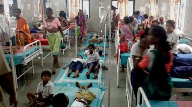 Bihar: 14 kids die in Muzaffarpur due to Encephalitis, over dozen admitted to hospitals