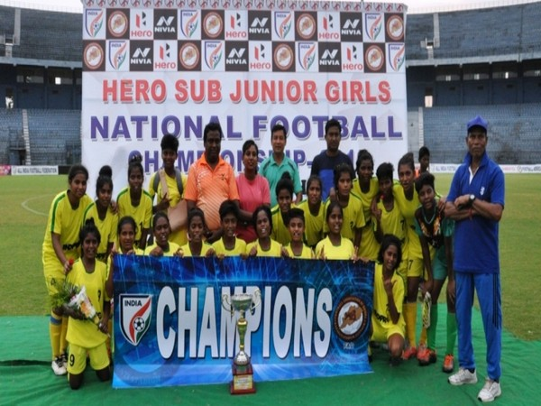 Jharkhand wins Sub-Junior Girls National Football C'ship final