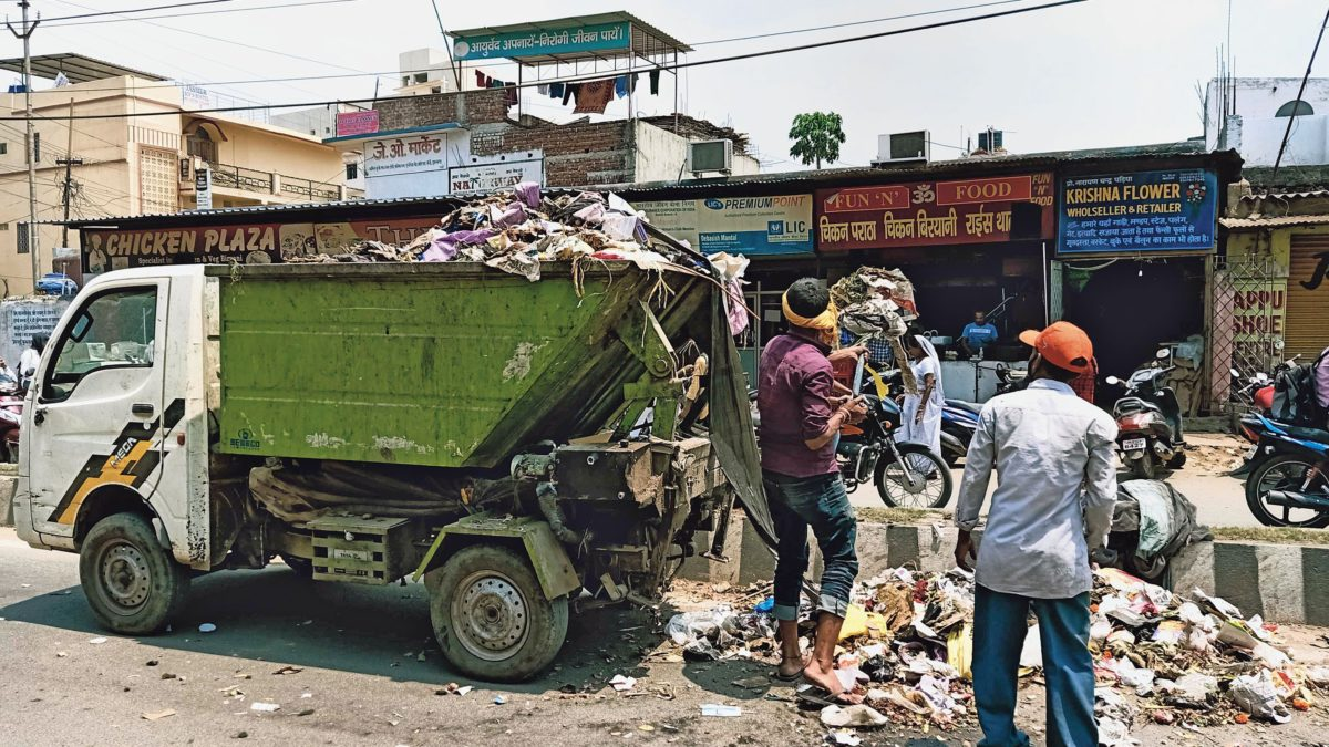 Smart buckets for Ranchi garbage solution