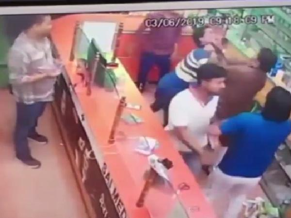 Bihar: VVIP arrogance caught on camera! BJP leader's brother thrashes chemist for not standing up to greet him