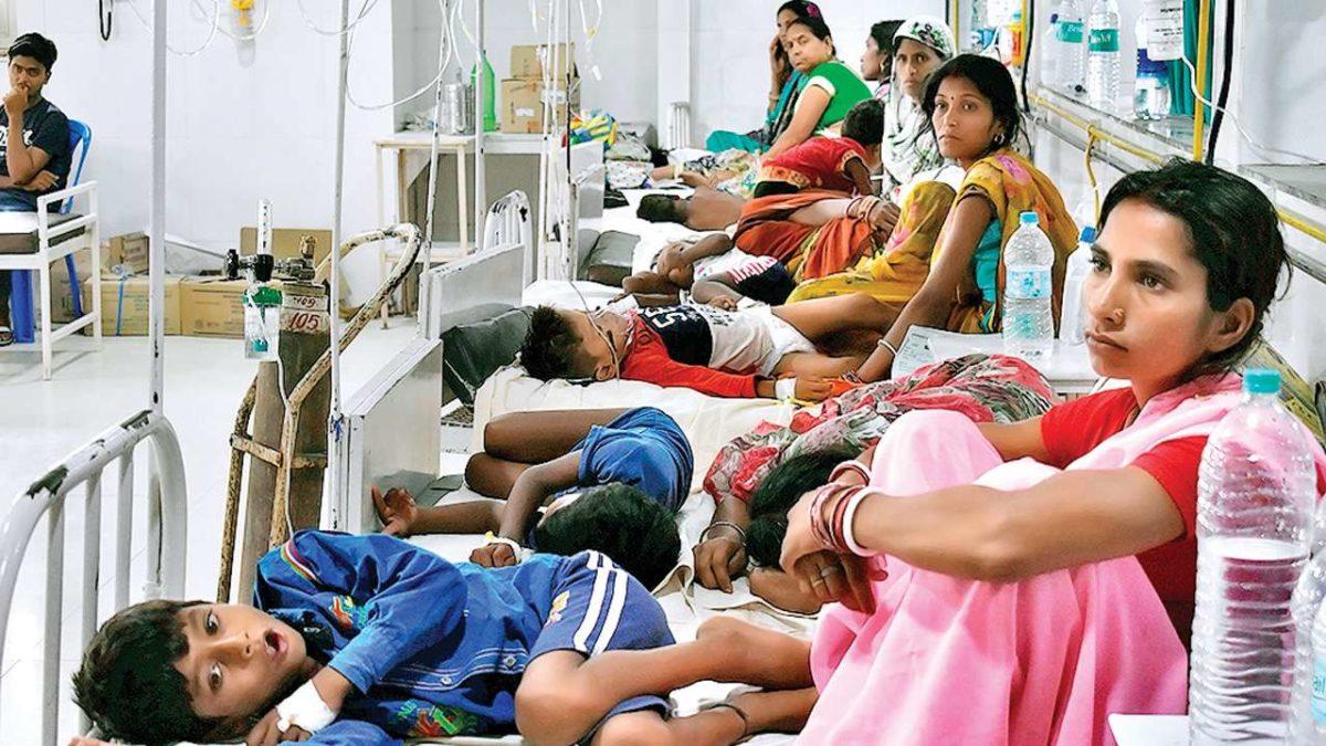 In Bihar's Darbhanga hospital, 50 kids die within one month