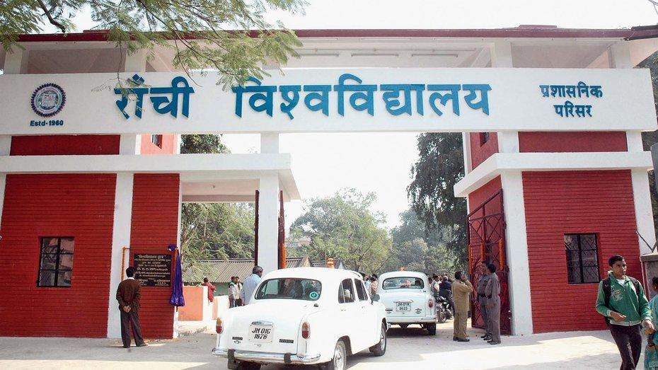 Retired Ranchi University teachers demand dues