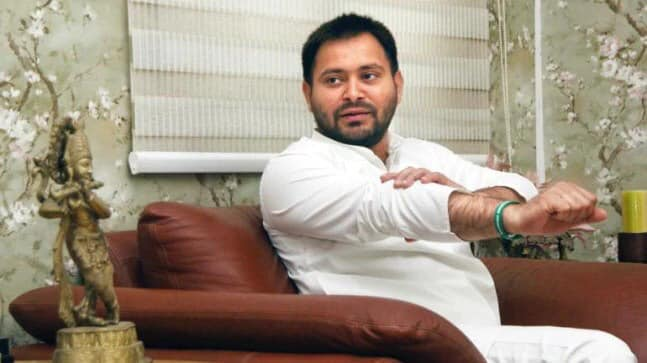 Tejashwi Yadav finally surfaces in Patna but still can't make it to Bihar assembly
